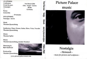 Nostalgia- Heimweh -music for pictures and sculptures